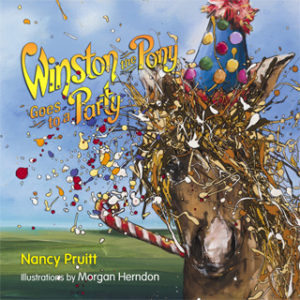 Image result for winston the pony goes to a party